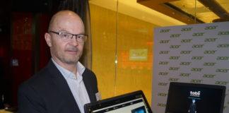 Thomas Berli, Country Manager von Acer Switzerland präsentierte Mitte März das neueste Produkt-Portfolio - just von der CES in Las Vegas ins Casino Zürich.