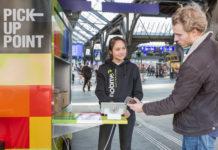 Bis 12 Uhr bestellt, ab 17 Uhr abgeholt: BRACK.CH-Kunden können ihre Pakete nun auch im Zürcher Hauptbahnhof abholen. Möglich macht dies der PickupPoint.