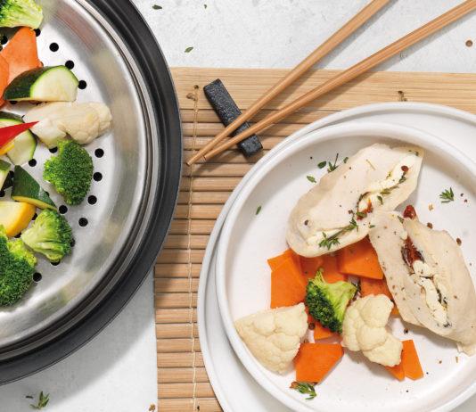 Teller mit Gemüse