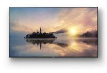 Ein Fernseher der neuen BRAVIA-Serie von Sony.