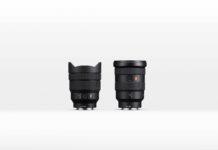 Das neue Objektiv SEL-1635GM und das Objektiv SEL-1224G von Sony.