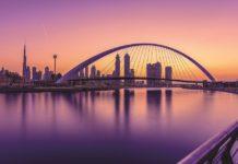 Brücke über Dubai