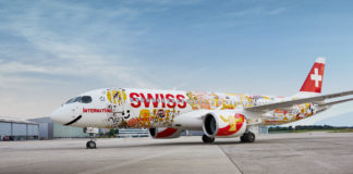 SWISS Spezialflugzeug CS300