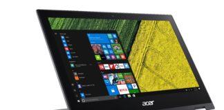 Das neue Convertible-Notebook Spin 1 von Acer.