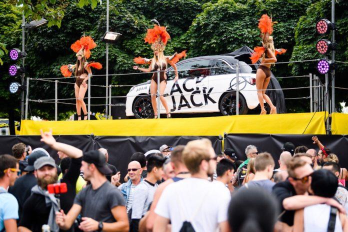 Opel VIP Lounge an der Streetparade