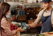 Bezahlvorgang mit dem Smartphone