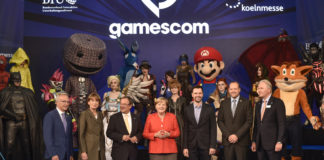 Gamescom-Eröffnung mit Bundeskanzelerin Merkel