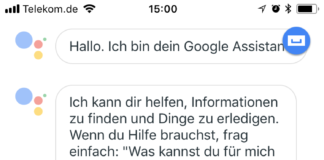 digitalSTROM und Google Home