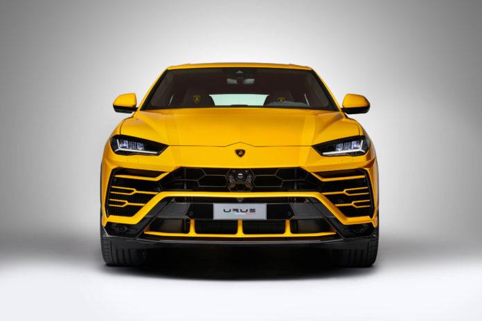 Der neue Lamborghini Urus mit Bang & Olufsen Sound System