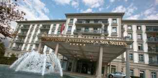 Aussenansicht Grand Hotel Quellenhof & Spa Suites