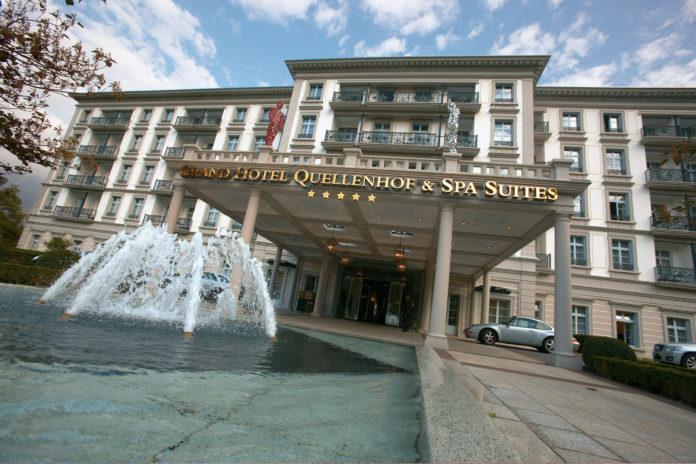 Aussenansicht Grand Hotel Quellenhof & Spa Suites