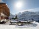 Winterstimmung vor dem Berghaus Bort