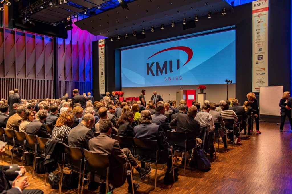 Der volle Plenums-Saal des KMU SWISS Forums