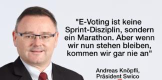 Swico unterstützt E-Voting