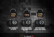 Gleich drei TIPA Awards gibt's dieses Jahr für Panasonic.