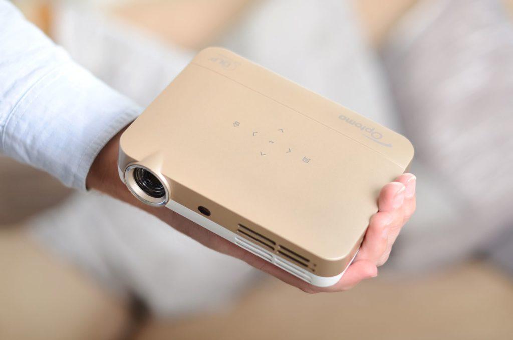 Kompakter Klein-Projektor