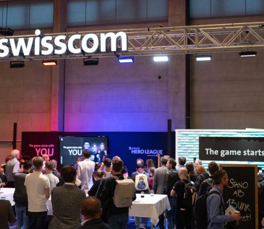 Präsentation der Swisscom Hero League powered by ESL am HeroFest in Bern