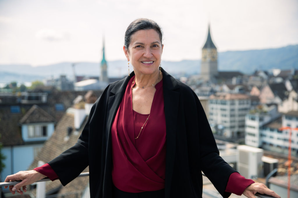 President & CEO Margareth Henriquez