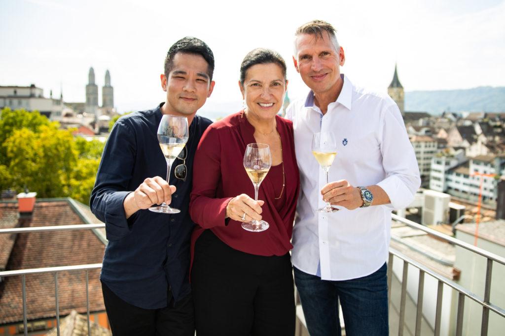 Eric, Margareth Henriquez & Heiko Nieder