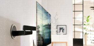 Loewe TV mit Vogel's Wandhalterung