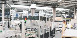 Die neue Verpackungsmaschine bei Digitec Galaxus