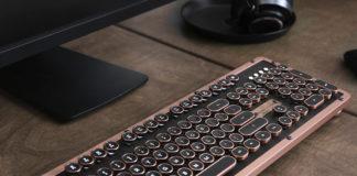 Die Retro Classic Tastatur Artisan von AZIO