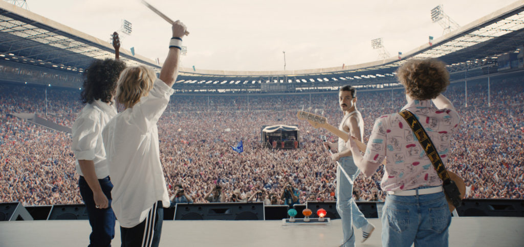 Queen in Live Aid at the Wembley