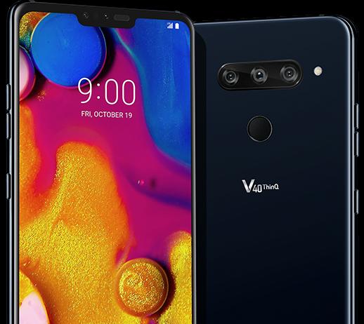 Das LG V40 (Quelle: LG).