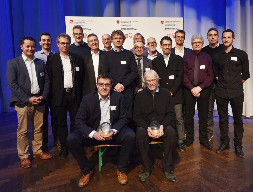 Die Preisträger der Kategorie Energieeffiziente Mobilität