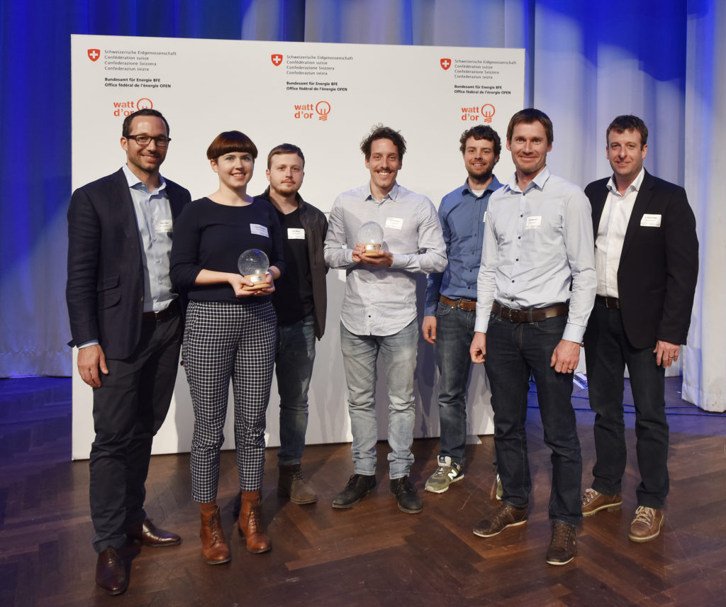 Die Preisträger der Kategorie Erneuerbare Energien