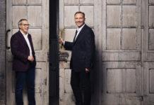 Michael Valocchi, IBM (links) and Greg Hyttenrauch, Vodafone Business (rechts)