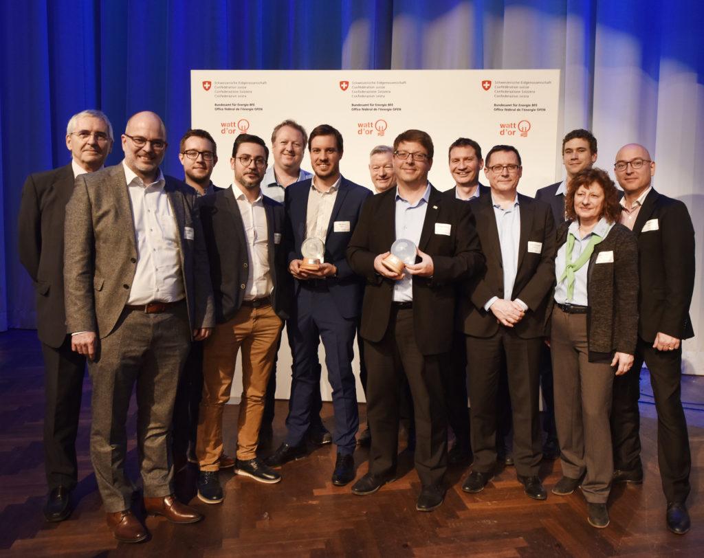 Die Preisträger der Kategorie Energietechnologien