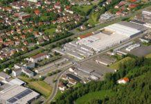 Die Loewe-Fabrik in Kronach