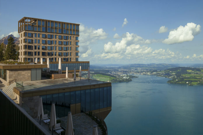 Hotel Bürgenstock Aussenansicht