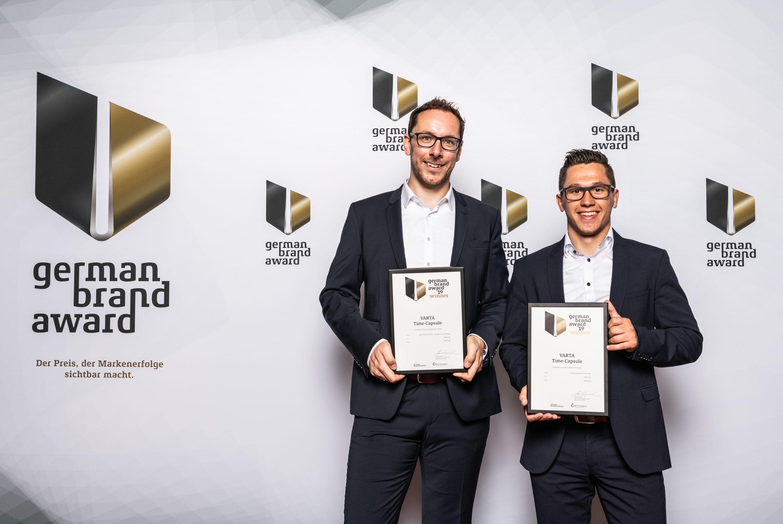 VARTA erhält German Brand Award