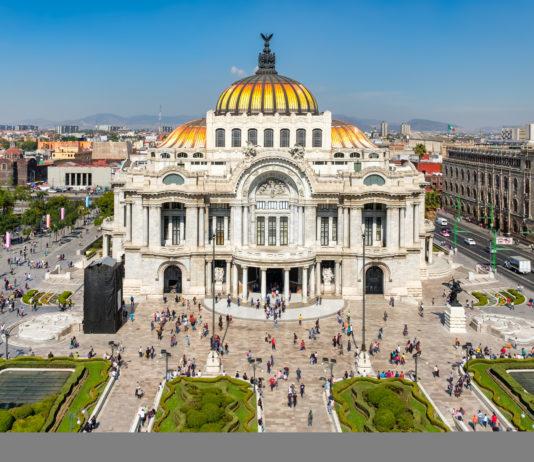 Palast i Mexico-City