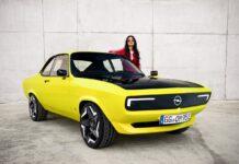 Der Opel Manta GSe ElektroMOD spiegelt die Faszination einer wachsenden Fangemeinde wider.