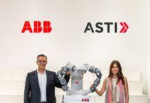 Sami Atiya und ASTI CEO Veronica Pascual Boé (Source: ABB).