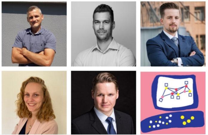 Das sind die Neuen im Team von Check Point: Jean-Marc Edder, Lars Hartman, Martin Kryza, Emily Owensmith und Christof Schulz (Quelle: Check Point).
