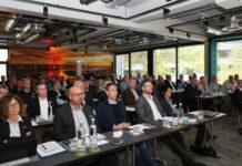 Die MEDIMAX Franchisepartner waren zahlreich der Einladung zur Unternehmertagung 2021 gefolgt (Quelle: EP)..